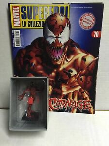 Eaglemoss Classic Marvel Figurine Collection N. 70 CARNAGE MIB, 2008
