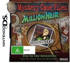 Mystery Case Files Millionheir *NEW & SEALED* DS