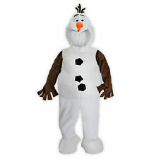Disney Store Frozen Olaf Dress Up Plush Halloween Costume for kids Size 4  NEW