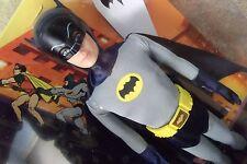 Vintage Look Superhero Batman Ken Doll & Removable Mask Navy Cape