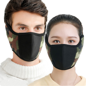 Winter Fleece Warm Face Mask Neck Warmer Winter Adult Unisex