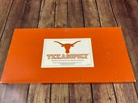 RARE 1st Edition Texasopoly Texas Longhorns Monopoly Board Game - Complete 1989