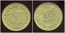 COLOMBIE 100 pesos 2006