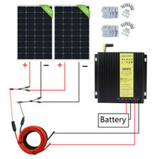 240W Solar Panel system 20A MPPT Controller high efficient for Home Garden Car