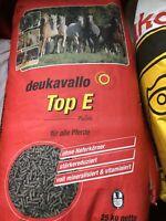 deukavallo Top E 25kg Pferdefutter für alle Pferde Pferdepellets Futter Pferd