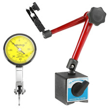 Kits Dial Test Indicator And Magnetic Base Stand Holder Adjustable With Case