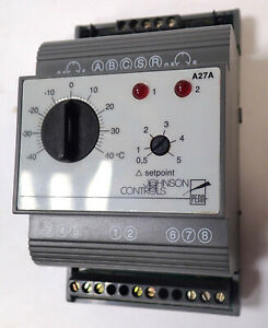 PENN JOHNSON CONTROLS A27A2N21 TWO-STAGE THERMOSTAT W/O SENSORS FIELD CONTROLLER