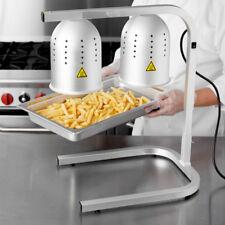 Avantco W62 Aluminum Heat Lamp / Food Warmer 2 Bulb Free Standing