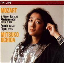 Mozart: 2 Piano Sonatas - Klaviersonaten KV 330 & 333, Adagio KV 540 Gigue KV 5