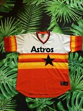 ASTROS HOUSTON Jersey Maillot Vintage 00s Majestic Cooperstown Baseball USA