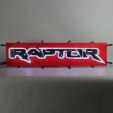 "New Raptor Ford Truck 32"" neon sign Garage shop glass wall lamp light 2020 F-150"