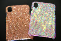 For iPhone X XR XS Max 7 8 Plus Bling Diamond Case Cover WITH SWAROVSKI ELEMENT