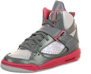 Original Girls Nike Air Jordan Flight 45 High Basketball trainers 524864 029