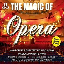THE MAGIC OF OPERA NEW 3 CD BOXSET 46 GREATEST OPERA HITS BEST OF OPERA