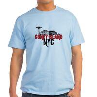 CafePress Coney Island NYC Light T Shirt 100% Cotton T-Shirt (621106730)