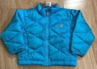 THE NORTH FACE 550 Down Jacket Baby Toddler Size 12-18 Months Blue