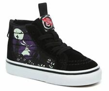 Vans Toddler X Disney Nightmare Before Christmas Jacks Lament SK8-Hi Zip Shoes