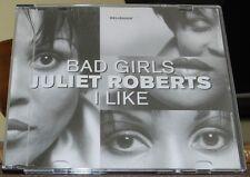 JULIET ROBERTS - BAD GIRLS  (CD SINGLE)
