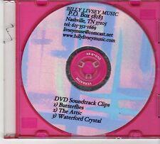 (EX387) Billy Livesy Music, DVD Soundtrack Clips - DJ DVD