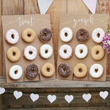 Donut Wall Cake Alternative - Rustic Country