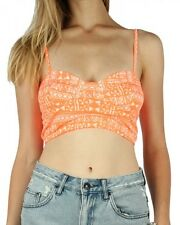 All About Eve Womens Neon Tribe Bustier Tribal Sleeveless Top Aussie Designed
