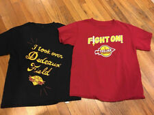 AWESOME!  LOT OF 2 USC TROJANS YOUTH BOYS SHIRTS SZ MED.