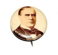 1900 WILLIAM MCKINLEY campaign pin pinback button badge political presidential