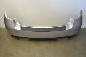 Subaru Impreza WRX STI Rear Bumper Cover Panel Trim Silver Genuine Oem 2008-2014