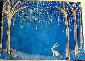yule equinox birthday blue tree of life hare solstice badger fox wicca christmas