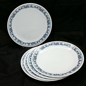 Corning Corelle Old Town Blue Onion 10.25 in Dinner Plate Set of 5