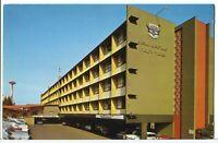 AMERICA WEST 6th Avenue Motor Hotel, Seattle WA 1960s Roadside America Postcard