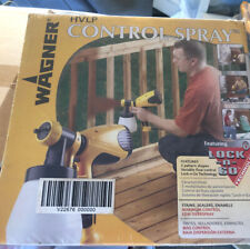 Wagner HVLP Control Spray Lock 'n Go Airless Outdoor Paint Sprayer Never Used