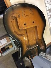 1960s Guyatone Offset Vintage Guitar body Luthier parts solid mahogany Teisco