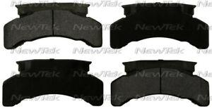 Disc Brake Pad Set-Galaxy Ceramic Disc Pads with hardware Front,Rear NewTek