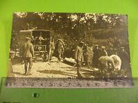 Altes Foto Verbandplatz Verwundete, um 1916, 1. Weltkrieg Belgien Flandern Ypern