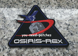 NASA OSIRIS-REx Touch-And-Go (TAG) BENNU ASTEROID SAMPLE RETURM MISSIONS PATCH