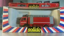 Solido Mercedes Lance Mousse Fire Truck (Foam)w/ladder, 1:50 Die-Cast, #3114-NIB