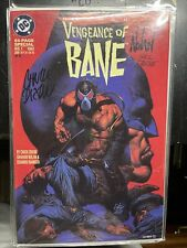 BATMAN: VENGEANCE OF BANE #1 SIGNED DIXON & NOLAN Bend On Cvr. See Picture W/COA
