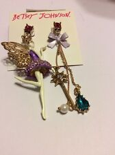 Betsey Johnson Jewelry Princess Charming Shaky Fairy $45 BP-8