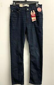 NEW Levi's Youth Boy's 16 Reg Blue 511 Slim Stretch Jeans Denim Pants Super Soft