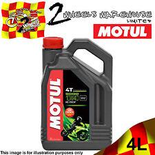 1x 4L MOTUL 5000 10W40 4T MA2 HC TECH BASED MOTOR CYCLE BIKE SEMI SYNTHETIC OIL