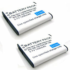 2x Battery For Olympus Stylus u 1010 u 1020 u 1030 u 1030 SW u 9000 u 9010 NEW