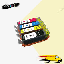 4PK For HP 655 ink cartridge For HP Deskjet 3525/4615/4625/5525/6525 with chips