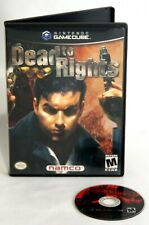 Dead to Rights GameCube Wii With Case Rare Namco 2002