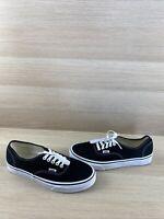 VANS Lo Pro Black Canvas Lace Up Low Top Skate Shoes Men's Size 9  Women's 10.5