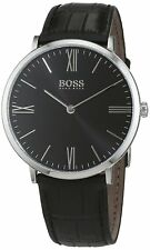 Hugo Boss Original 1513369 Men's Jackson Black Leather Watch 40 MM