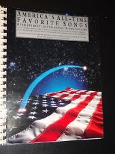 SMPB America's All-Time Favorite Songs [over 200 Songs](1992 Paperback) Songbook