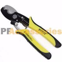 "8"" inch Heavy Duty Cable Cutter Scissor Wire Stripper Cutter 8-14 AWG Electrical"