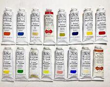 LOT OF 16 Winsor & Newton Artists Oil Color 37ml Paint Tubes Last One New *SALE*