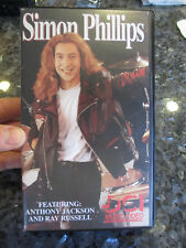 SIMON PHILLIPS - DCI MUSIC VIDEO on VHS - STUDENT DRUM LESSONS